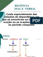 Regencia Verbal e Nominal