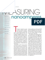 Measuring Nano Amperes