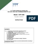 Manual DigitalView SVP-1280
