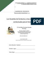 Los Acuerdos de Conducta y Otras Estrategias Conductuales Para El Aula