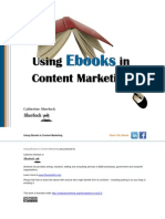 Using eBooks in Content Marketing