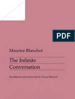 46835411 Blanchot 1963 the Infinite Conversation