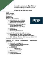 Guia Estructura Tesis Doctoral Indice