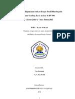 KTI Tira Setiawati-Jurusan Farmasi Politeknik Kesehatan Kemenkes 2012
