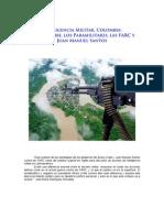 Asuntos de Inteligencia Militar Sobre Estrategia Contra Las FARC