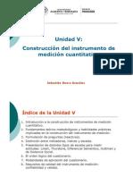 CUANTI I. Clases Unidad 5. Construcción de instrumento de medición