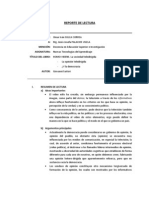 00 - Reporte de Lectura - Homo Videns - Sulca Correa