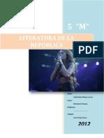Literatura de La Republica