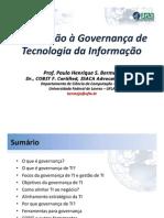 UFLA - IntroducaoGovernancaTI