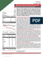 Dishman Pharmaceuticals Chemicals - Result Update