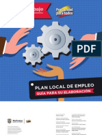 Guia Plan Local Empleo Guia Elaboracion