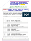 ISO/IEC 17025 Sample Forms