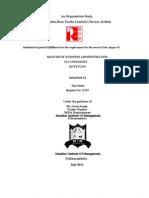Organisation Study IRE Fin