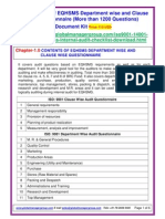 EQHSMS Audit Checklist