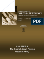 Chapter 9 - The Capital Asset Pricing Model (CAPM)