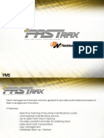 Fleet Management Solution - Fastrax