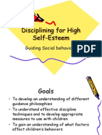 Discipline for Self Esteem