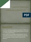 Credit Monitoring Arrangement