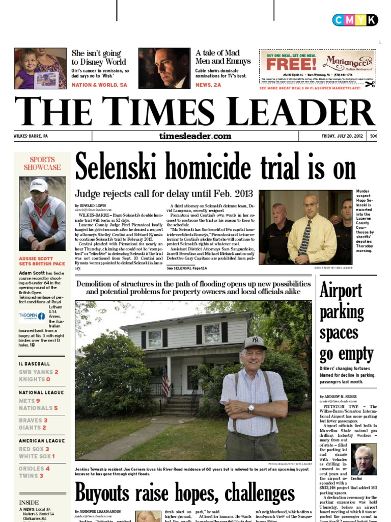 Times Leader 07-20-2012 | Crimes | Prosecution on