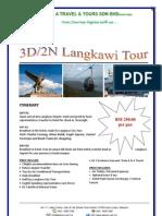 3D2N Langkawi