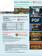 Universal Studio Singapore Package Singapore Hotel + Mema