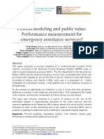 Process Modeling and Public Value