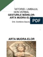 ARTA ORATORIEI- LIMBAJUL MÂINILOR