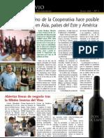 Vinícola Villarrobledo Boletín Nº 1 junio 2012