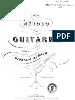 Dionisio Aguado, Nuevo Metodo de Guitarra