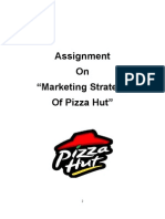 Marketing Strategy of Pizza Hut