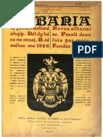 Albania - Faik Konitza [Faik Konica, Trhank Spirobeg] (Jun 1898 - Nov 1899)