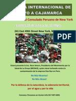 20 de Julio Jornada en New York