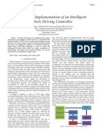 Design and Implementation of an Intelligent Vehicle Driving Controller---IEEE2011