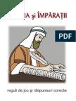 Reguli - Raspunsuri Joc Ieremia