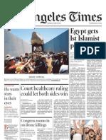 La Times June 25 2012