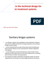 Anaerobic Treatment Systems Technical Design