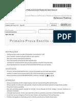 Fcc 2012 Dpe Sp Defensor Publico Prova