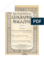 National Geographic July 1918