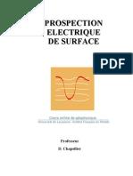 PROSPECTION ELECTRIQUE DE SURFACE
