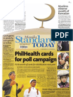 Manila Standard Today -- July 21, 2012 Issue