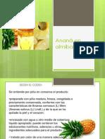Ananá en almíbar