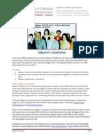 Sjogrens_ACR Fact Sheet