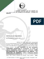 AÇÃO DECLARATÓRIA COM INDENIZAÇÃO - ESPOLIO JOÃO LEAL PINTO x ENERGIPE COM TIMBRE em finalização