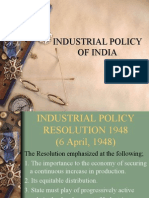Ppt Industrial Policy of India