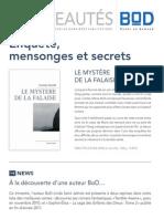 BoD Nouveautés Printemps 2012
