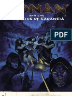 Adventure - Conan RPG - And the Heretics of Tarantia (Lvl 5-7)