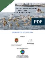 Reglamento 83 Vuelta a La Escollera Alicante 2012