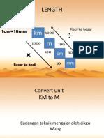 Convert Unit Km-mm