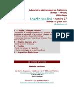LAMPEA-Doc 2012 – numéro 27 / vendredi 20 juillet 2012