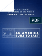 White House State of the Union 2012 Enhanced Graphics